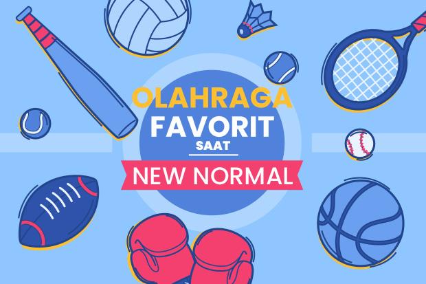 10 Olahraga Favorit saat New Normal