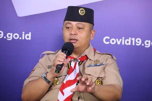 Sebanyak 2.000 Anggota Pramuka Nasional Terlibat Penanganan Corona