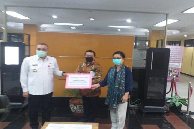 LINK SILO Siloam dan Link Net Sumbang 1.000 Rapid Test ke Pemkab Tangerang