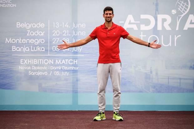 Terus Disudutkan, Djokovic Dapat Pembelaan dari Vekic