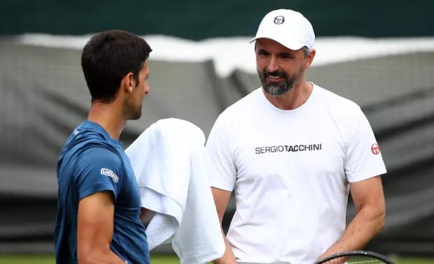 Tiga Kali Dites, Pelatih Djokovic Baru Ketahuan Positif Corona