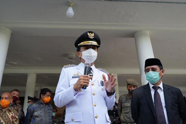 Gubernur Titip Tiga Hal untuk Pj Wali Kota Makassar yang Baru