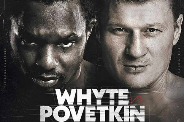 Matchroom Fight Camp Siap Digelar, Whyte-Povetkin Tarung 22 Agustus