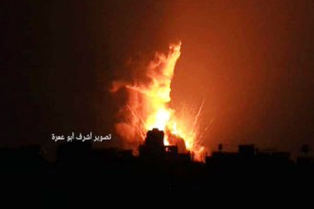Api Perang Tersulut, Hamas-Israel Saling Bombardir