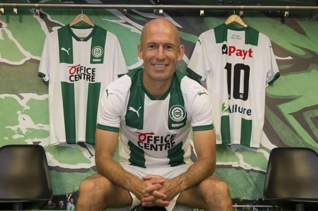 Libatkan Michael Jordan, Begini Cara FC Groningen Memancing Robben Kembali