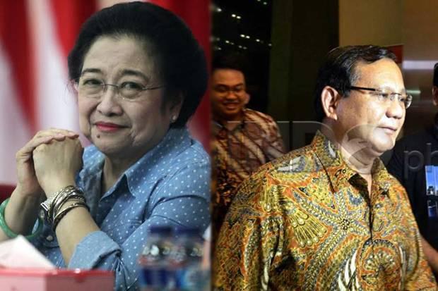 Prabowo Diprediksi Lawan Megawati di 2024, Arief Poyuono: Ngawur