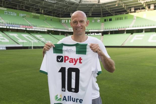 Sudahi Pensiun, Arjen Robben Gatal Kembali ke Klub Masa Remaja
