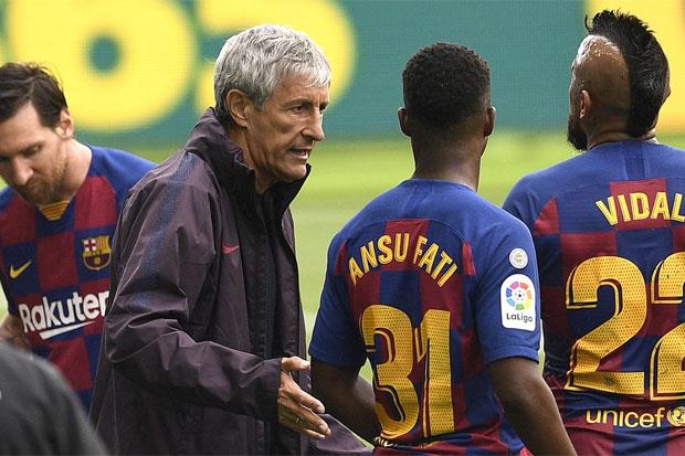 Setien Sebut Barcelona Kurang Beruntung di Markas Celta Vigo