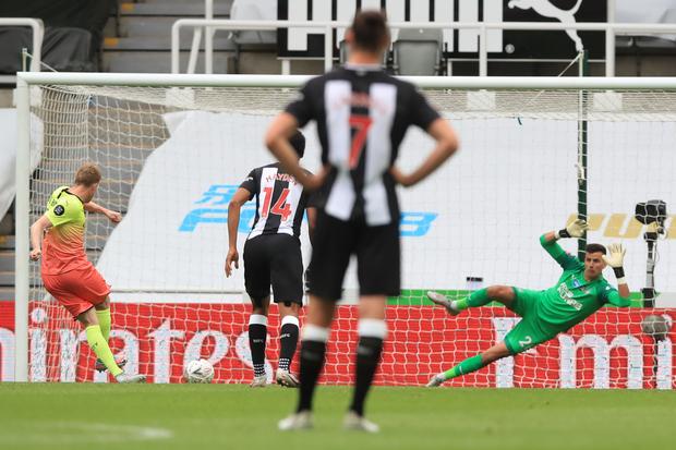 Singkirkan Newcastle, Man City Tantang Arsenal di Semifinal Piala FA