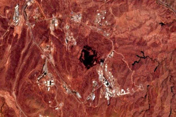 Foto Satelit : Yang Meledak di Iran Diyakini Tempat Produksi Rudal