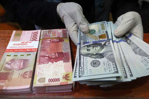 Rupiah Balik Berotot ke Level Rp14.197 per USD