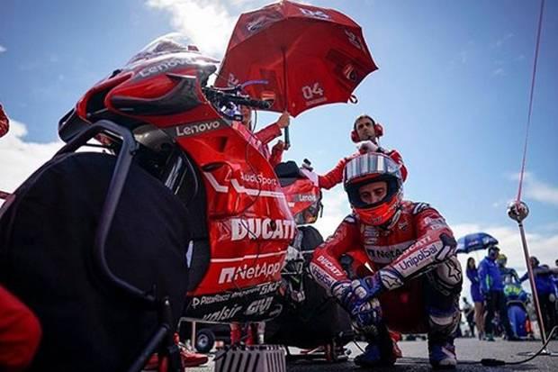 Manajer Pastikan Dovizioso Masih Punya Gairah Balapan di MotoGP