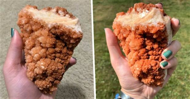 Kristal Berbentuk Mirip Ayam Goreng, Diberi Nama Kentucky Fried Crystal