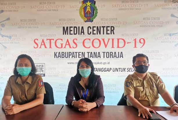 Pasien COVID-19 Bertambah 2 Orang, Total 10 Kasus di Tana Toraja