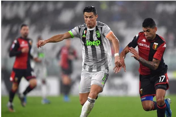 Genoa Paksa Juventus Bermain Imbang 0-0 di Babak Pertama