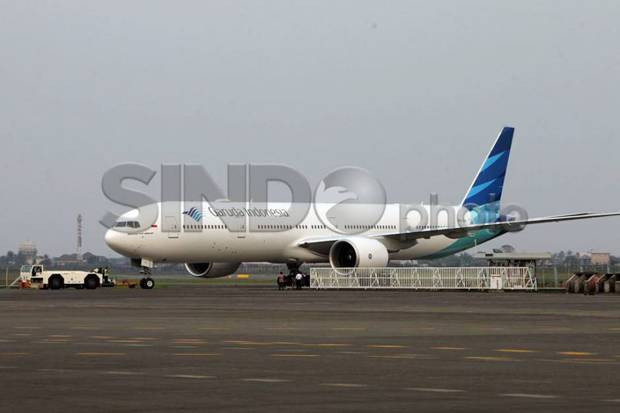 Era New Normal, Penumpang Garuda Indonesia Melonjak 10%