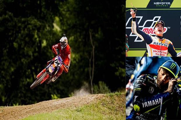 Tragedi Dovizioso di Motocross, Buka Peluang Marquez Samai Raih Juara Dunia Rossi