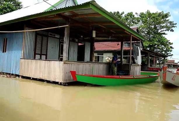 Banjir di Wajo Kian Parah, Ketinggian Air Capai 2,5 Meter