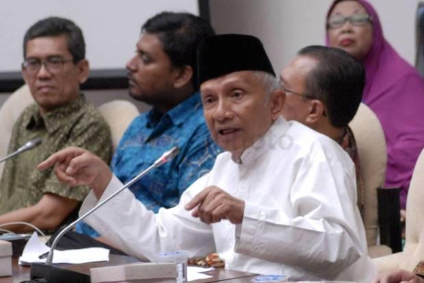 Jokowi Marahi Menteri, Amien Rais: Saya Terbit Kasihan, Terbit Ketawa Juga...