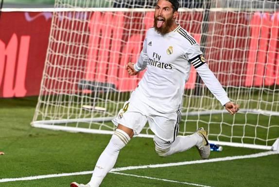 Butuh Penalti Ramos untuk Bungkam Getafe, Madrid Jauhi Barcelona