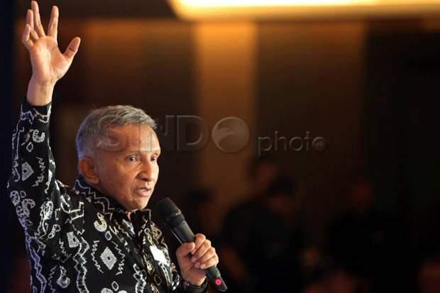 Amien Rais: Banyak Menteri Tidak Paham Kondisi Rakyat