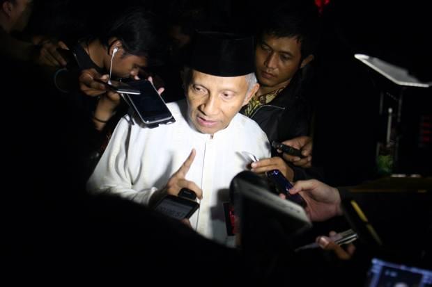 Kritik Menteri Jokowi, Amien Rais: Mereka Seperti di Angkasa Luar