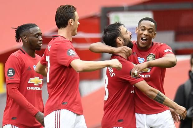Manchester United Naik ke Empat Besar Usai Permak Bournemouth