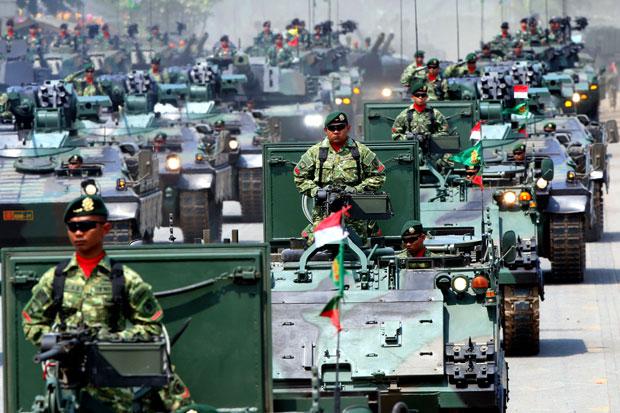 Kekuatan militer Indonesia pada 2020 berada di posisi 16 dari 137 negara. Indonesia nomor 1 di ASEAN, mengungguli Singapura dan Malaysia. Meski membanggakan, capaian ini tak lantas membuat jemawa.
