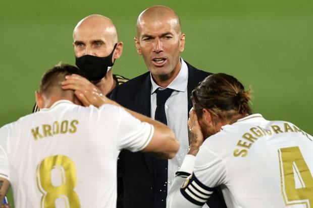 Berpeluang Jadi Juara LaLiga, Zidane : Belum Saatnya Merayakan