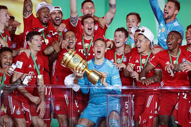 Bayern Muenchen Juara DFB Pokal 2020