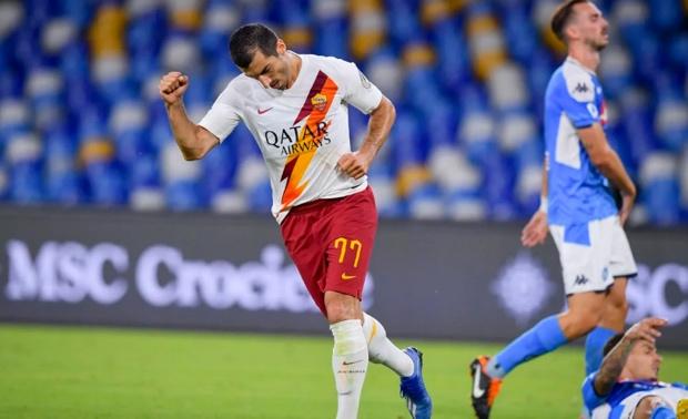 Kalah dari Napoli, Mkhitaryan Minta AS Roma Benahi Mentalitas