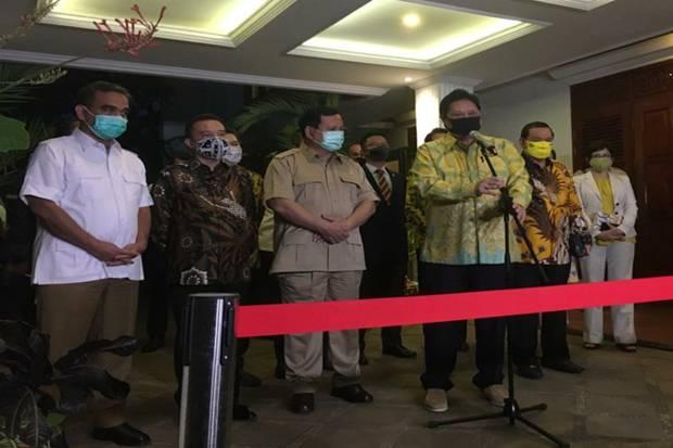 Dari pertemuan antara Airlangga Hartarto dan Prabowo Subianto dihasilkan Golkar-Gerindra sepakat berkoalisi di beberapa Pemilihan Kepala Daerah (Pilkada) 2020.