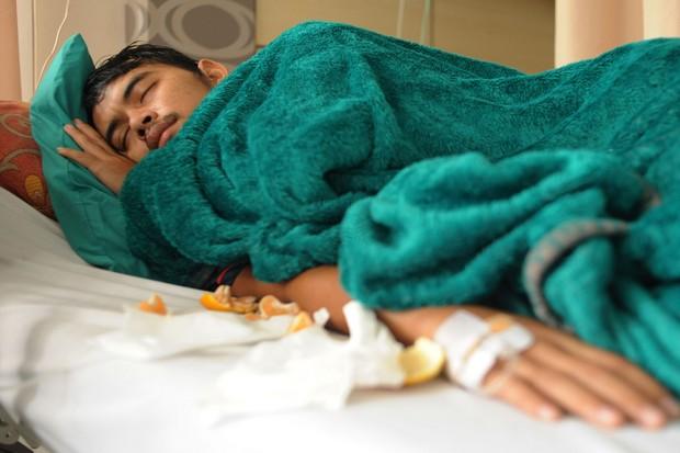 Terbaring di Rumah Sakit, Persib Doakan Puja agar Lekas Sembuh