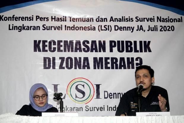 LSI Denny JA: 74% Kondisi Ekonomi Masyarakat Memburuk