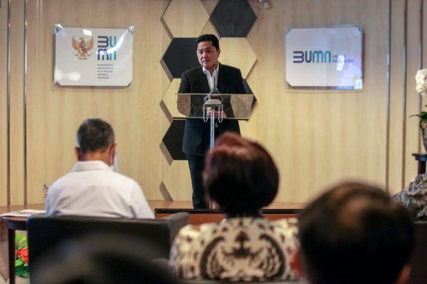 Menteri BUMN Apresiasi Perjuangan Tenaga Medis dan Relawan Covid-19