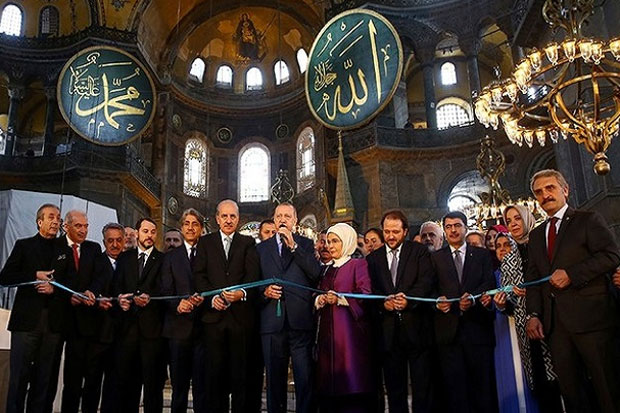 Salat Pertama di Hagia Sophia akan Berlangsung 24 Juli Mendatang