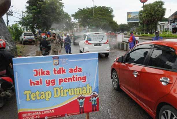 Mulai Besok, Keluar-Masuk Makassar Harus Kantongi Surat Bebas COVID-19