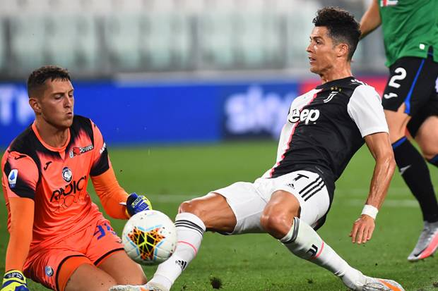 Ronaldo Jadi Penyelamat Juventus dari Sergapan Atalanta