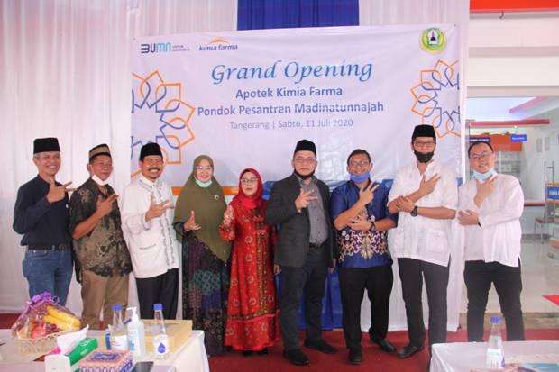 Bersama Institut Moderasi Indonesia, Kimia Farma Resmikan Apotek di Ponpes