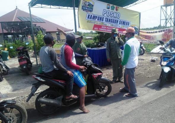 Kampung Ikan Asap Penatarsewu Aktif Ikut Tanggulangi Pandemi Covid-19