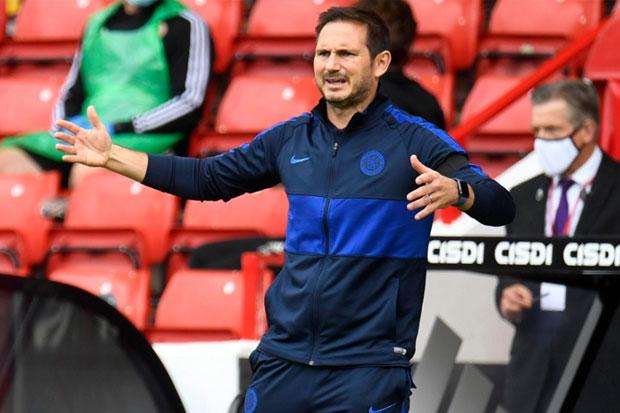 Frank Lampard Tantang Pemain Chelsea Tampil Lebih Garang