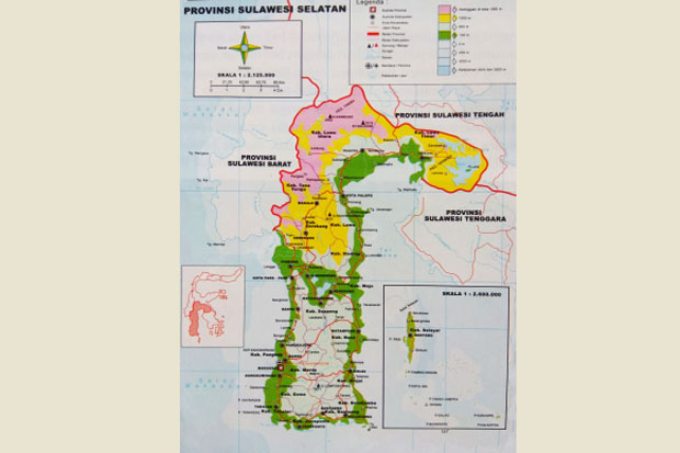 Bencana Alam Intai 24 Kabupaten/Kota di Sulawesi Selatan