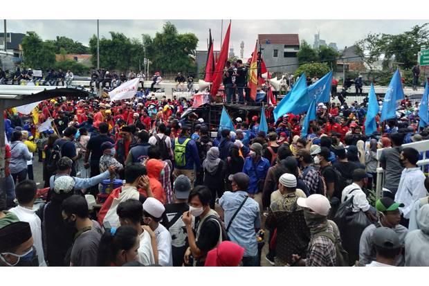 Protes Omnibus Law Cipta Kerja, Buruh Kapok Bertemu Anggota DPR