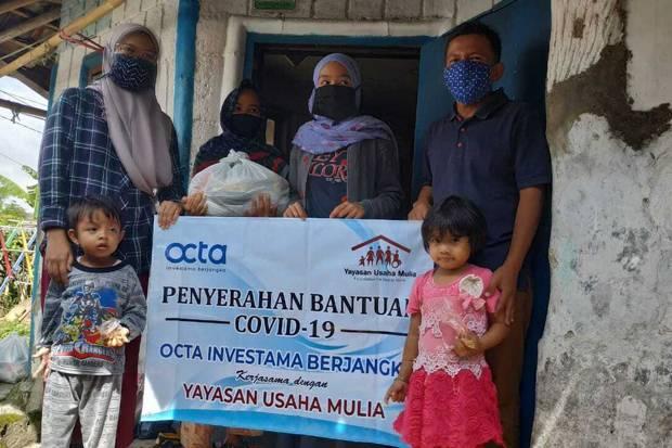 Octa Bantu Masyarakat Lewati Krisis Pandemi Covid-19