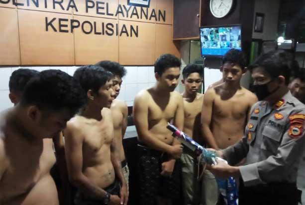 Bentrok dengan Warga, Belasan Pembalap Liar di Makassar Ditangkap