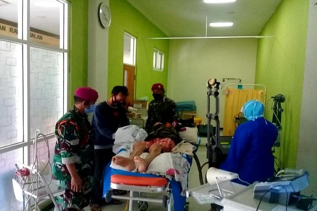 Marinir Bawa Pengangkat Jenazah Jenderal TNI Korban G30S/PKI ke RS Al Huda