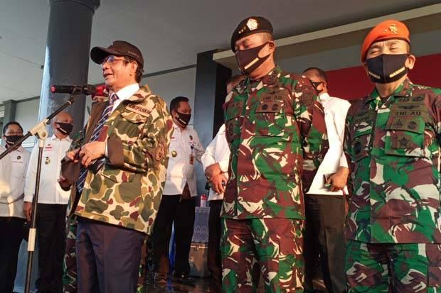 Mahfud MD Janji Kebut Perpres Pelibatan TNI dalam Penanggulangan Terorisme