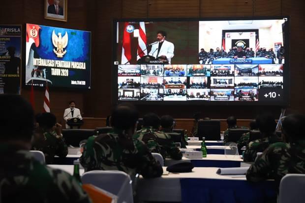 Ratusan Prajurit TNI AL Ikut Sosialisasi BPIP