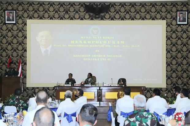 Peran TNI dalam Pemberantasan Terorisme Telah Diamanatkan Undang-Undang