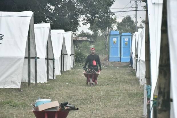 Pembangunan Shelter untuk Pengungsi di Lutra Mulai Rampung